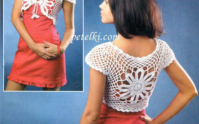 Bolero crochet - Crochet Patrones