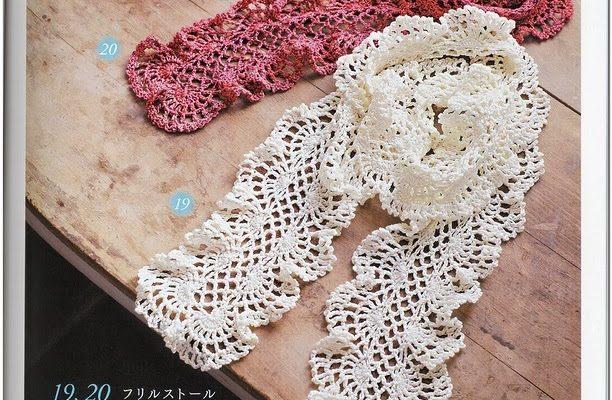 Bufanda en crochet muy elegante - Crochet Patrones