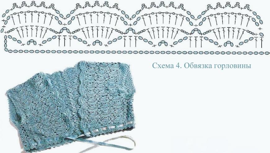 Patrón Bolero de crochet en una pieza ⋆ Crochet Patrones