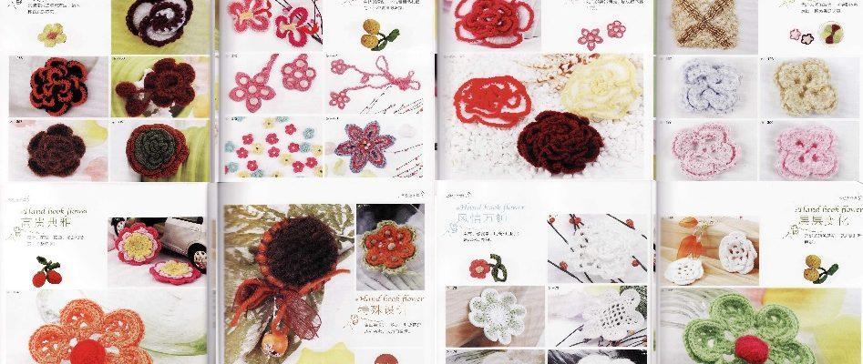 Patrones de flores en ganchillo - Crochet Patrones
