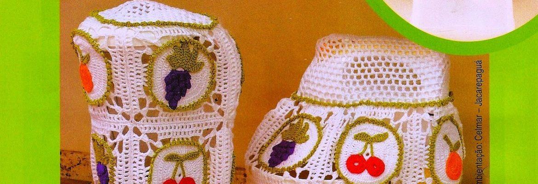 Patrones gratis de ganchillo para la cocina - Crochet Patrones