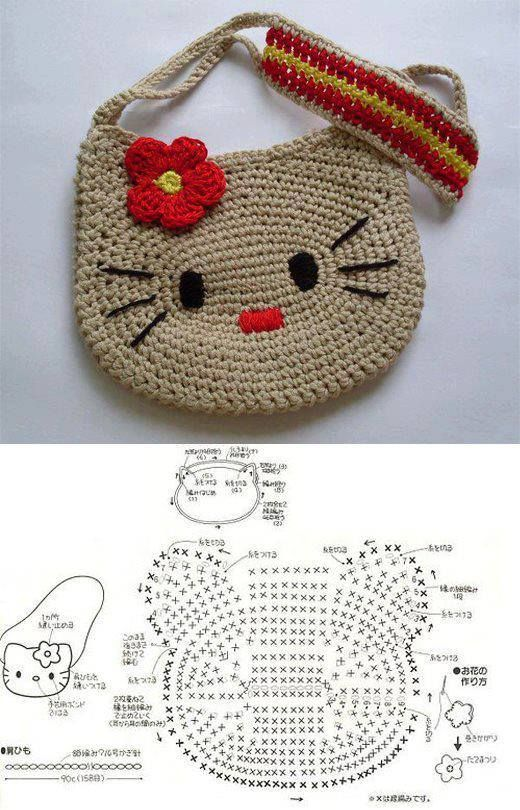 Esquemas ganchillo variados y gratis ⋆ Crochet Patrones
