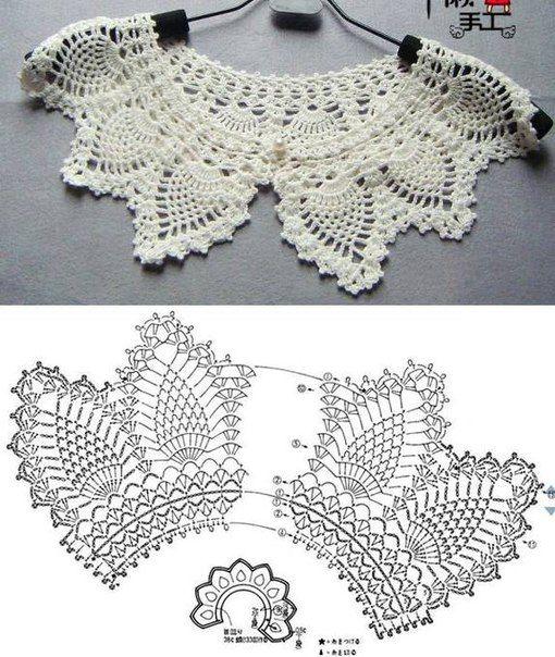 Magnífico Patrones De Crochet Collar Libre Colección - Ideas de ...