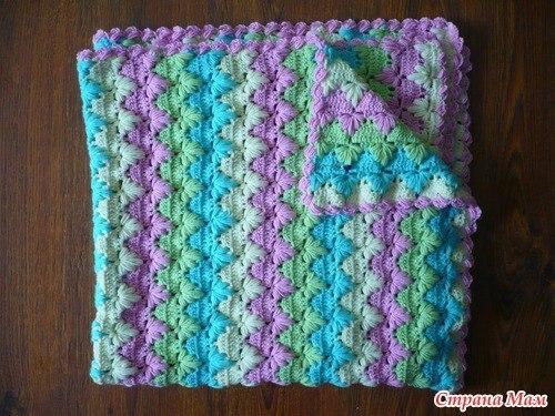 Bebé manta ganchillo esquemas - Crochet Patrones