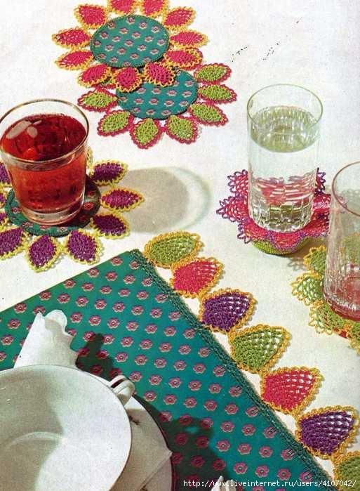 Blondas de piña crochet para todo ⋆ Crochet Patrones