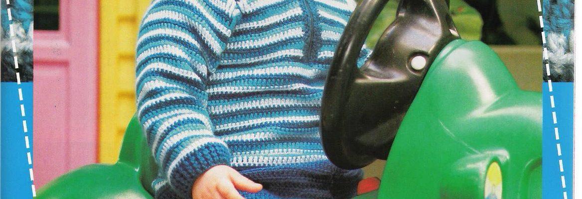 Chaleco crochet bebe con patrones - Crochet Patrones
