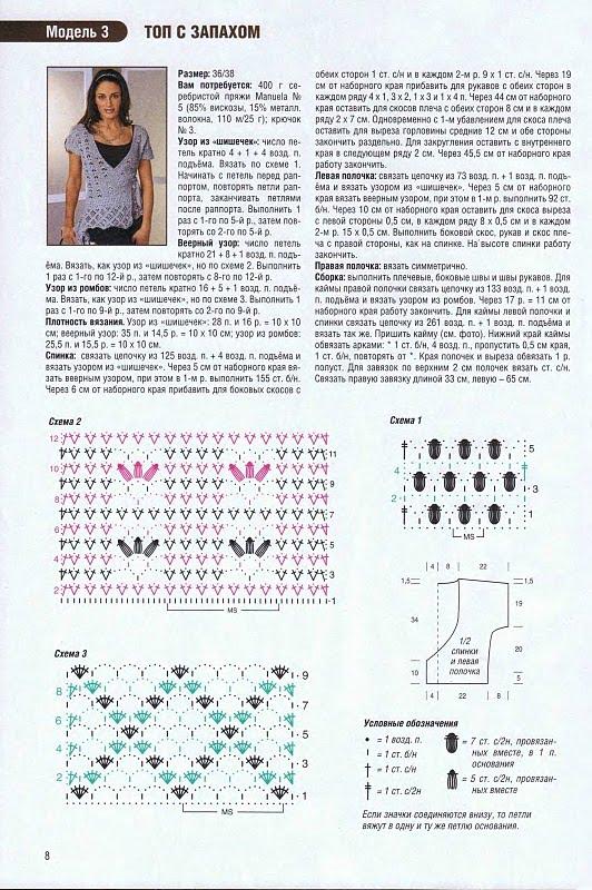 Chaleco crochet cruzado con patrón ⋆ Crochet Patrones