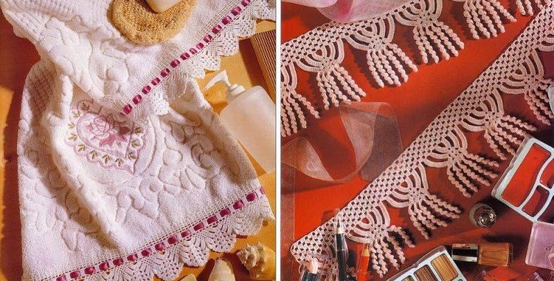 Motivos ganchillo para tejer bordes - Crochet Patrones