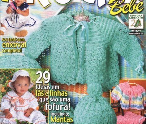 Revista crochet gratis bebe - Crochet Patrones