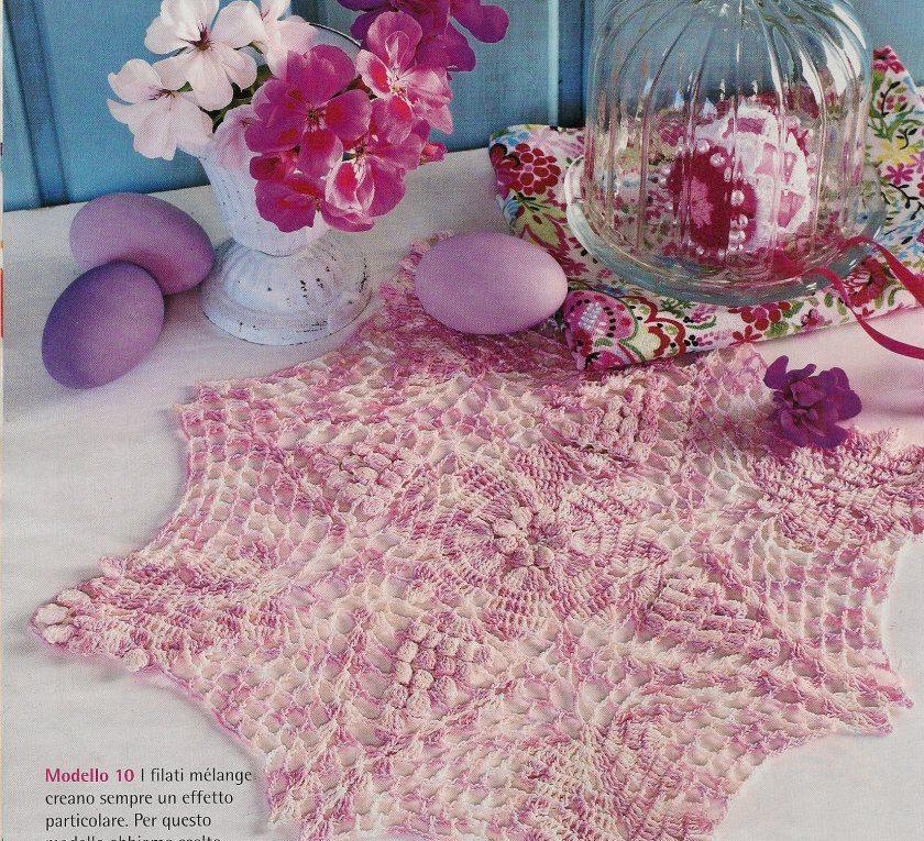 Carpetas de crochet patrones gratis ➤ LOCA PASIÓN➤ Crochet Patrones