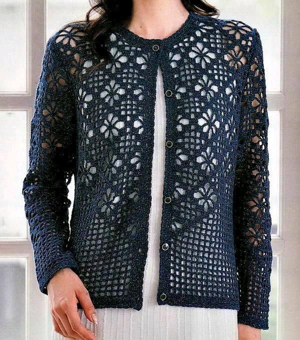 Chaleco crochet mujer ➤ LA PASIÓN DE TEJER 🌻➤ Crochet Patrones