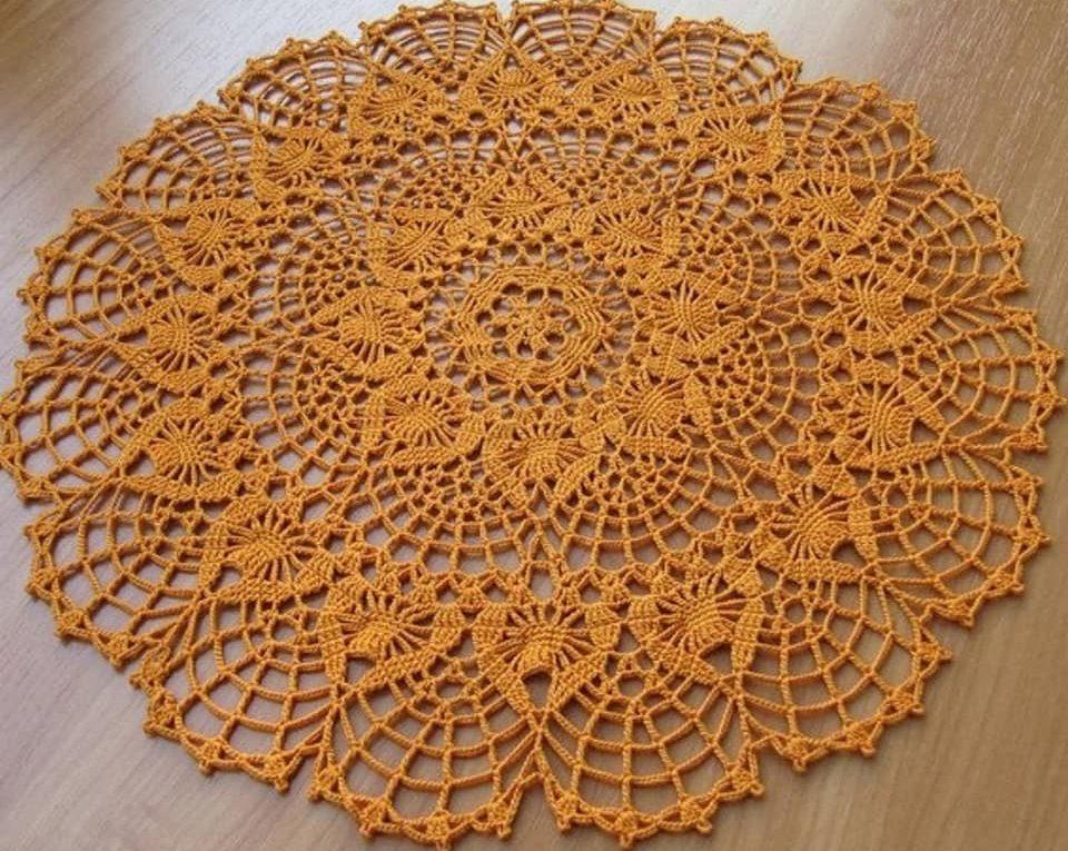 Tapete ganchillo piña ➤ EL ARTE DE TEJER ➤ Crochet Patrones